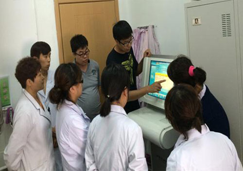 四川省成都中医体质辨识仪安装成功
